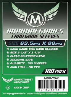 Mayday Standard Card Sleeves - 63.5mm X 88mm (100ct)