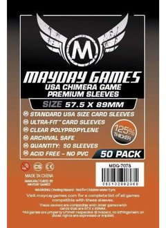 Mayday Premium USA Chimera Card Sleeves -  57.5mm X 89mm (50ct)