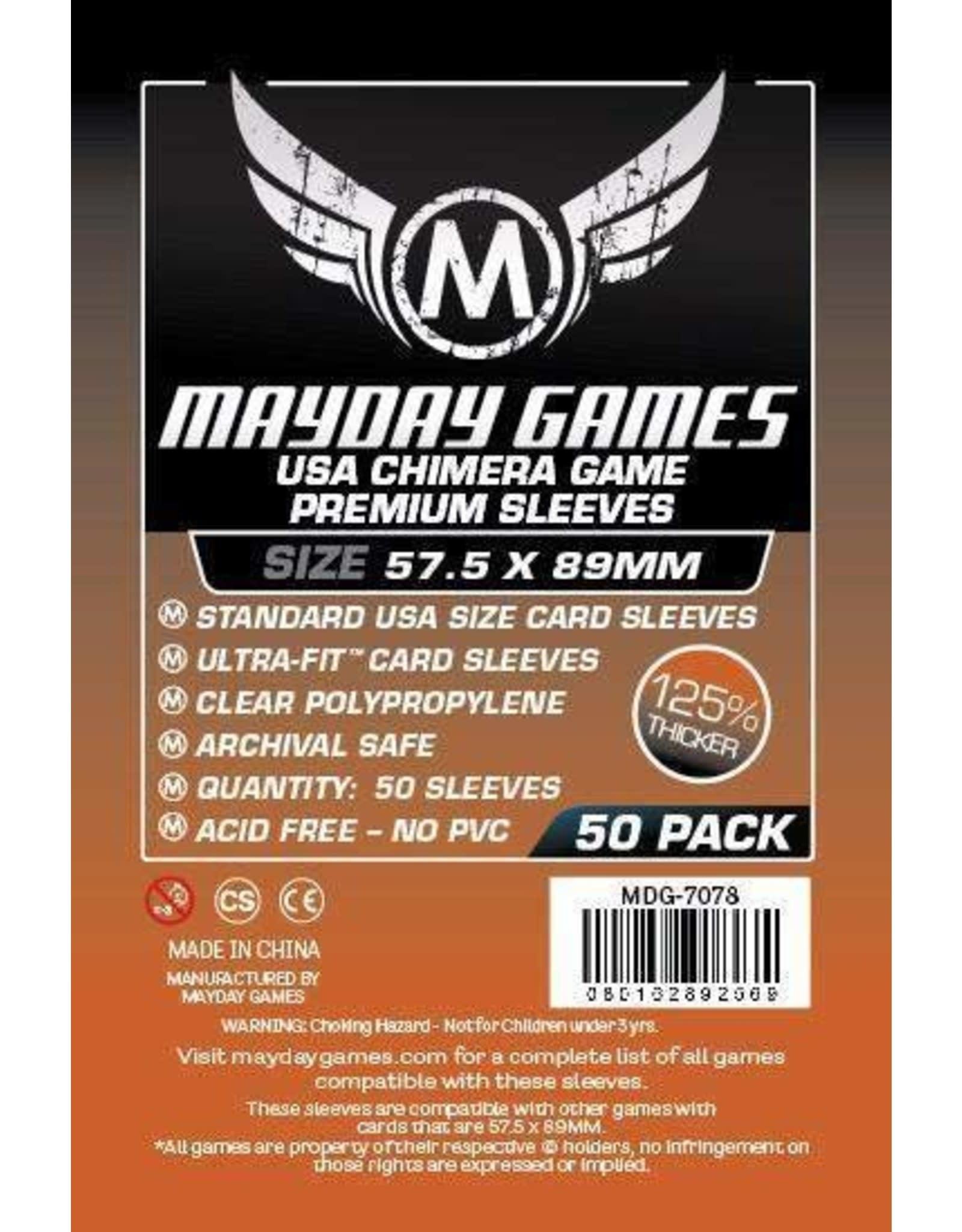 Mayday Premium USA Chimera Card Sleeves -  57.5mm X 89mm (50ct)