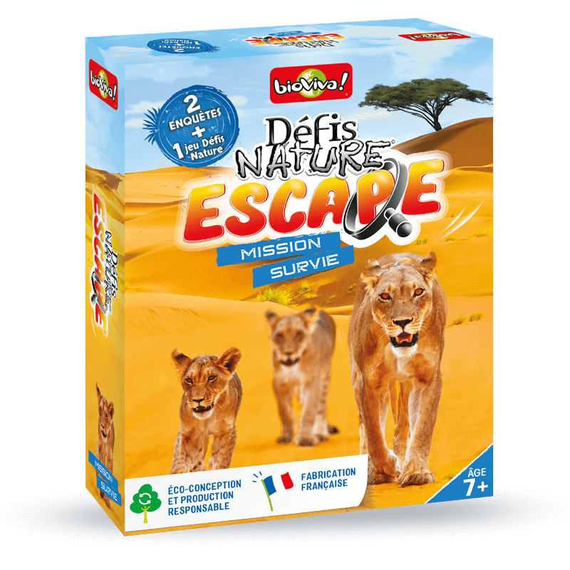 Défis Nature Escape: Mission Survie