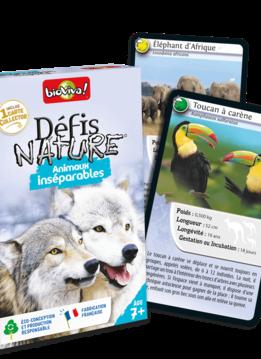 Défis Nature:  Animaux Inséparables
