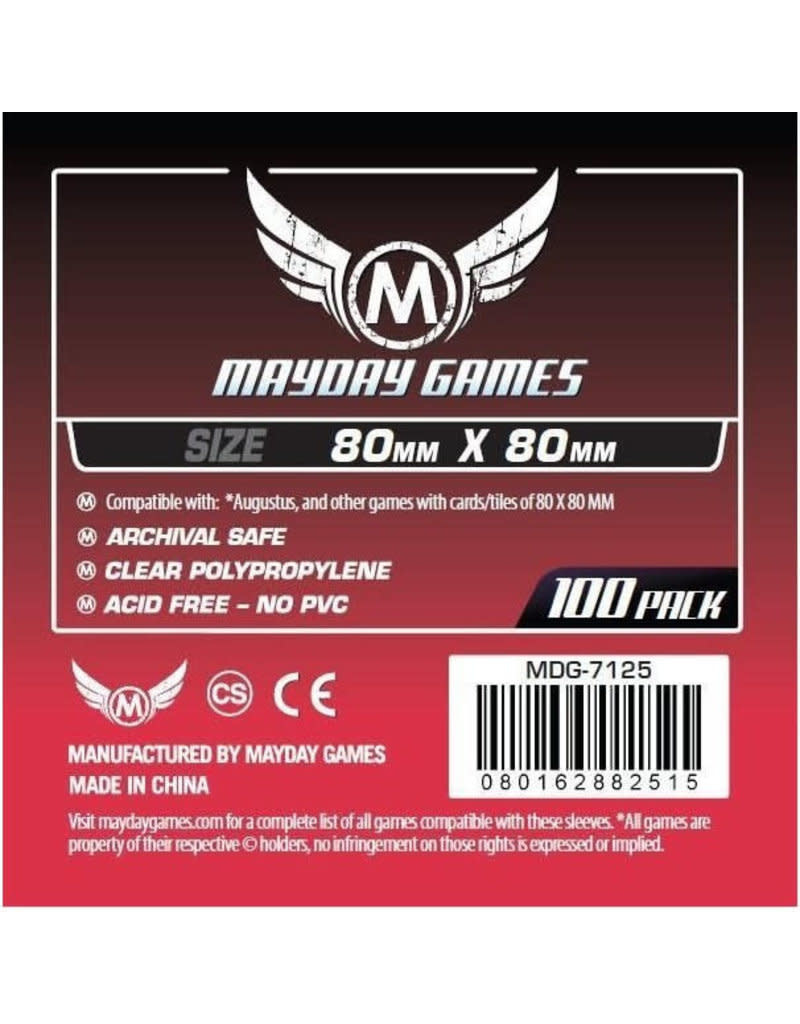 Mayday Square Card Sleeves -80mm X 80 mm (100ct)