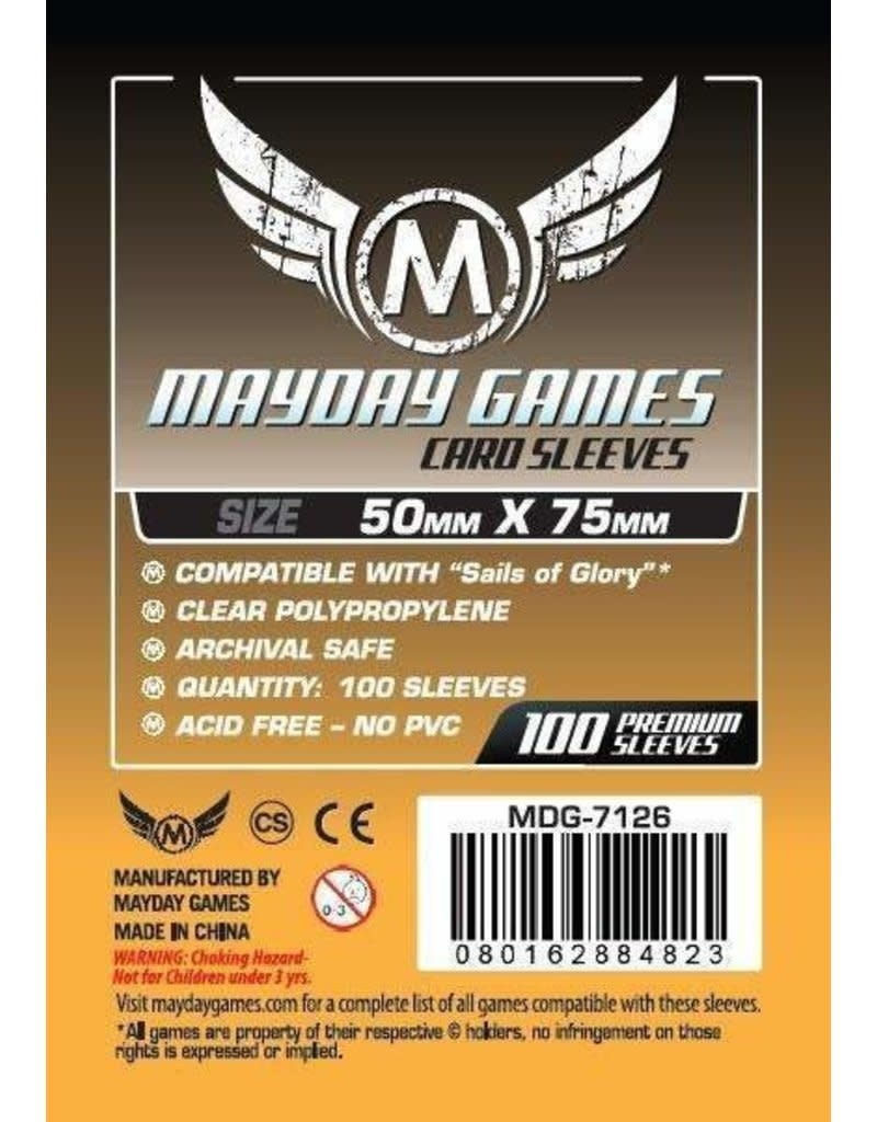 Mayday Sails of Glory Card Sleeves - 50mm X 75mm (100ct)