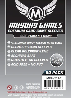 Mayday Premium Magnum Platinum Sleeves - 61mm X 112mm (50ct)