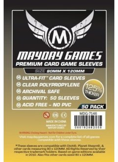 Mayday Premium Dixit Sleeves - 80mm X 120mm (50ct)