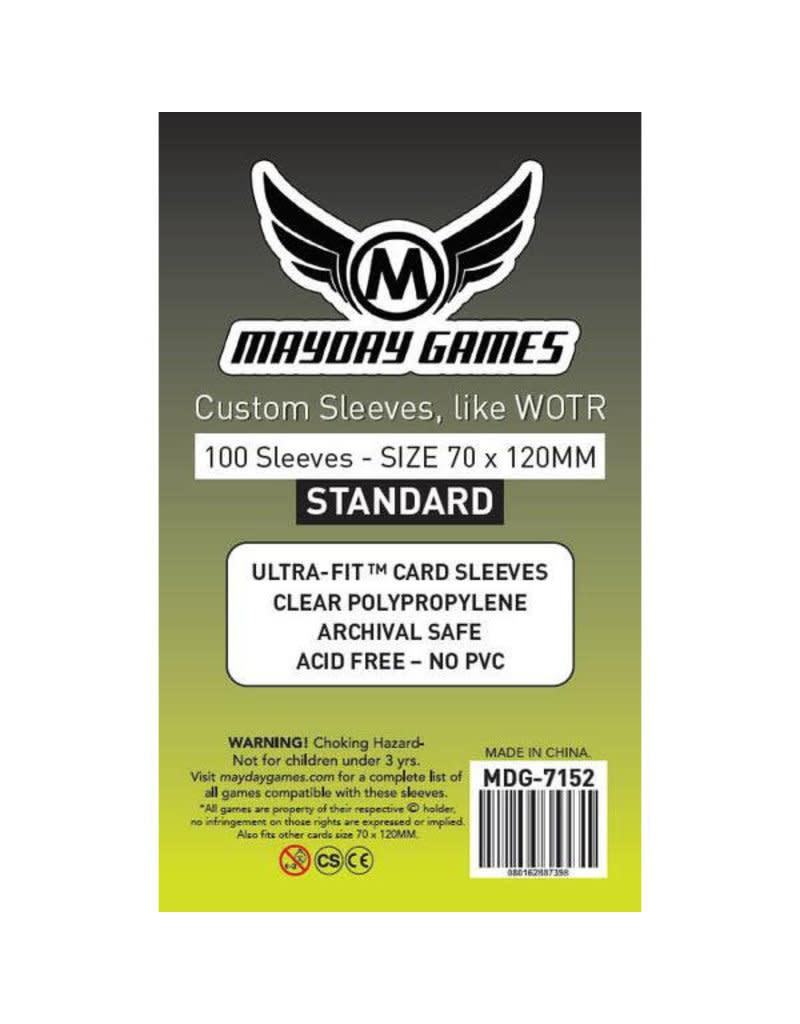 Mayday Standard Tarot Sleeves - 70mm X 120mm (100ct)