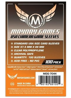 Mayday USA Chimera Card Sleeves -  57.5mm X 89mm (100ct)
