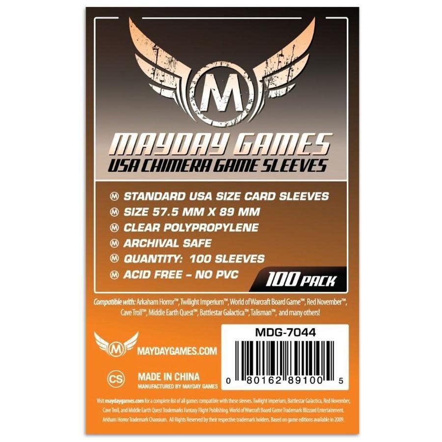 Mayday USA Chimera Card Sleeves -  57.5mm X 89mm (100ct)