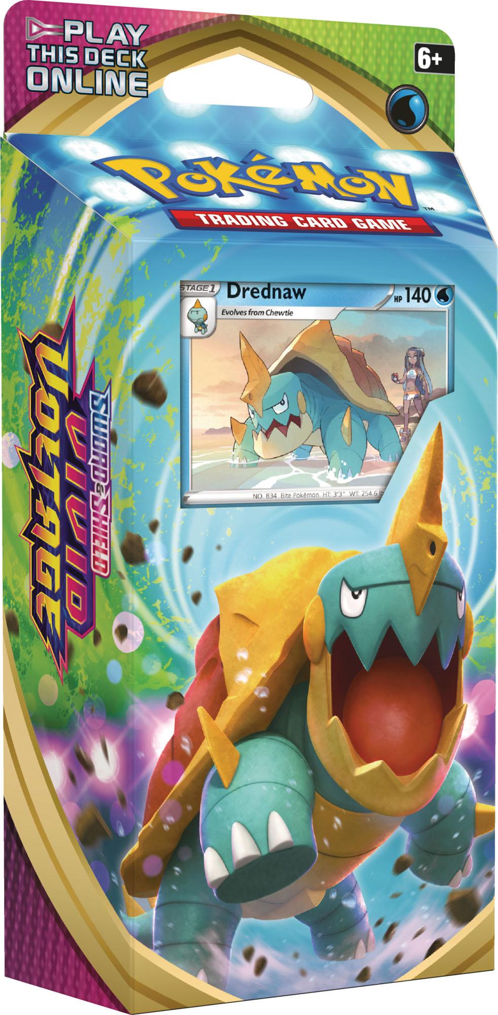 Drednaw Theme Deck - Pokemon Vivid Voltage