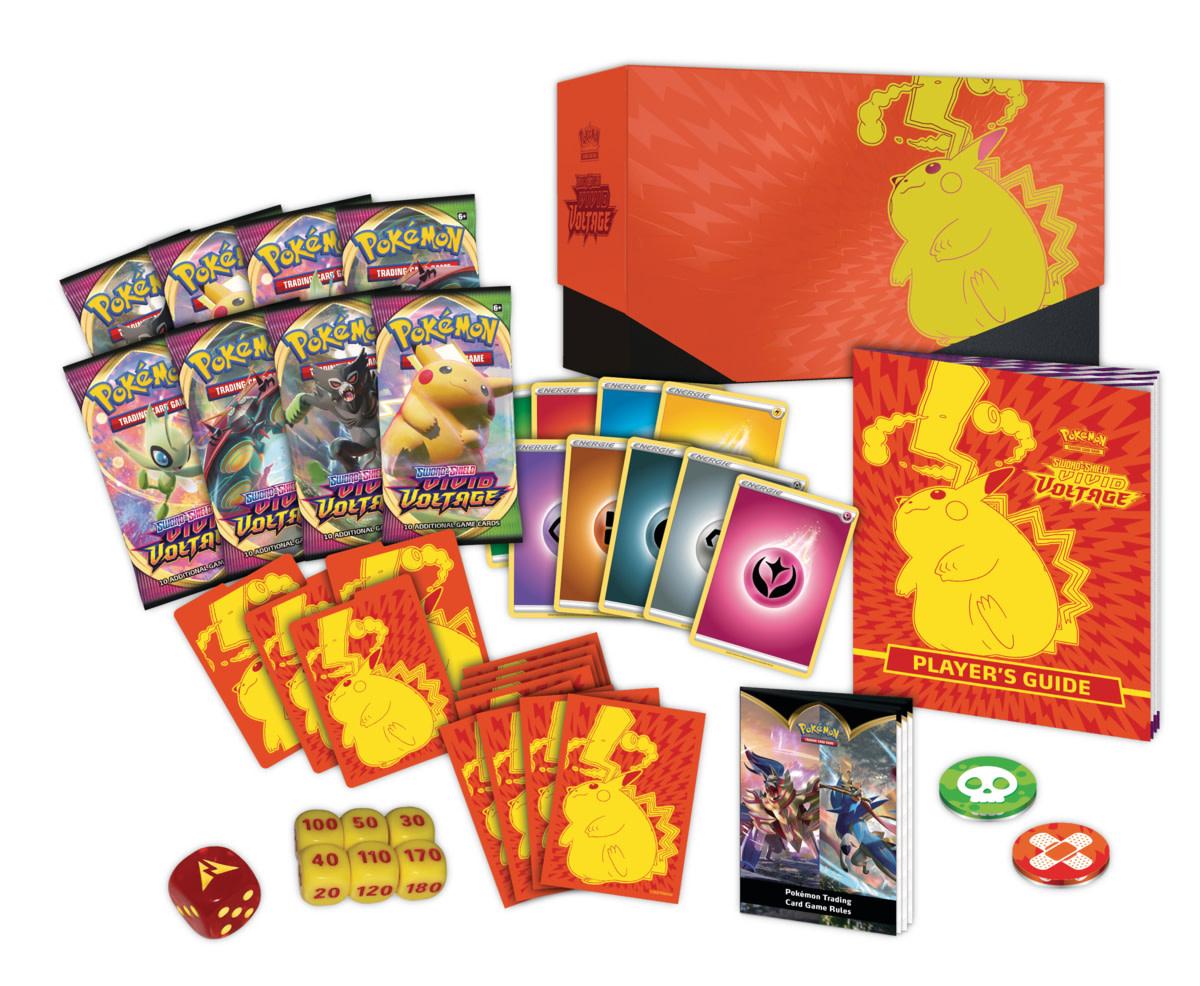 Pokémon Vivid Voltage - Elite Trainer Box