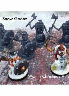 War in Christmas Village: Snow Goonz