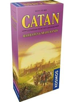Catan: Ext. Barbares & Marchands 5-6 Joueurs