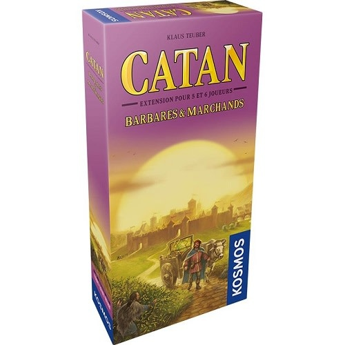 Catan: Ext. Barbares & Marchands 5-6 Joueurs