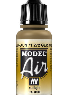 Vallejo Model Air: German Green Brown (17ml)