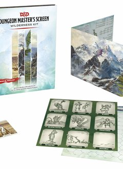 Dungeon Master's Screen Wilderness Kit