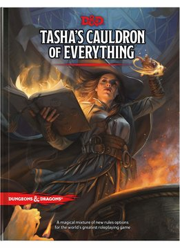 D&D 5E: Tasha's Cauldron of Everything (Reg. Cover)