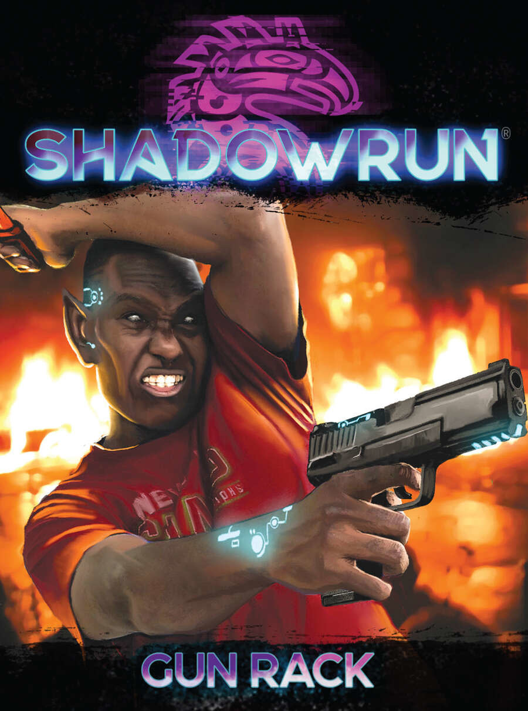 Shadowrun: Gun Rack Weapon Cards