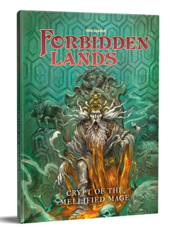 Forbidden Lands RPG: Crypt of the Mellified Mage (HC)