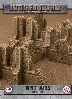 Battlefield in a Box: Gothic Ruined Sandstone Walls