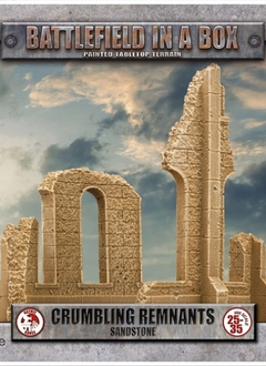 Battlefield in a Box: Gothic Crumbling Remnants (Sandstone)