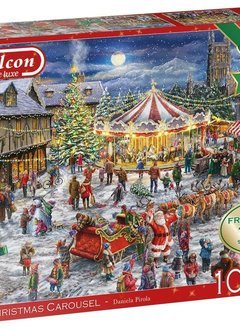 Puzzle: The Christmas Carousel (2x1000)