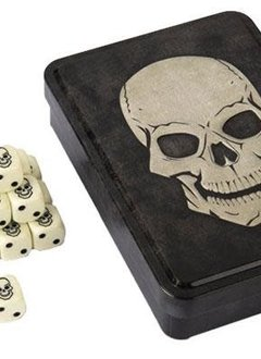 Skull Dice Set 20d6 Tin