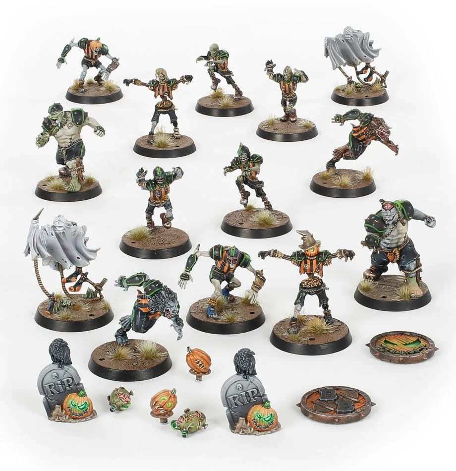 Blood Bowl Necromantic Horror Team: The Wolfenburg Crypt-Stealers