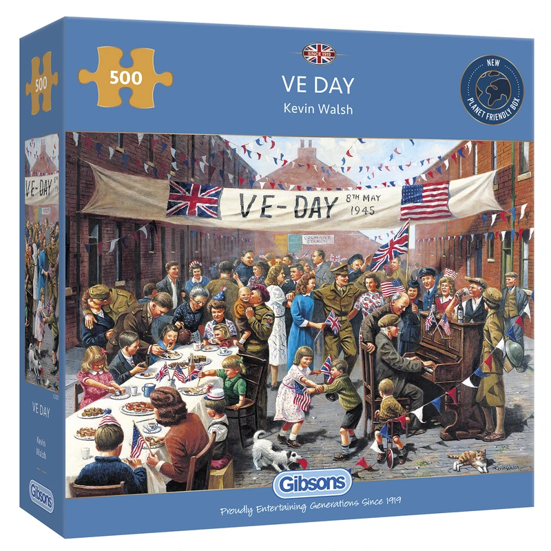 Puzzle: VE Day (500 pc)