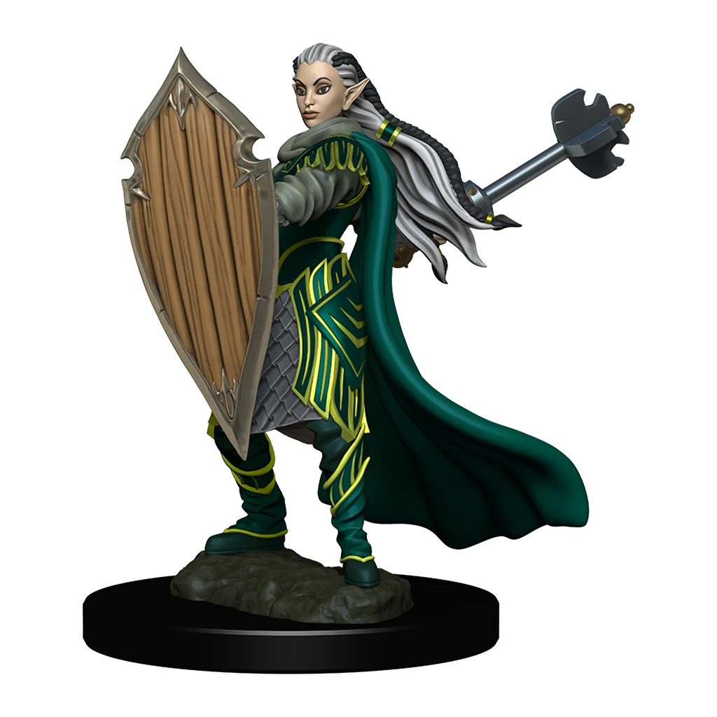 D&D Premium Figures: Elf Female Paladin