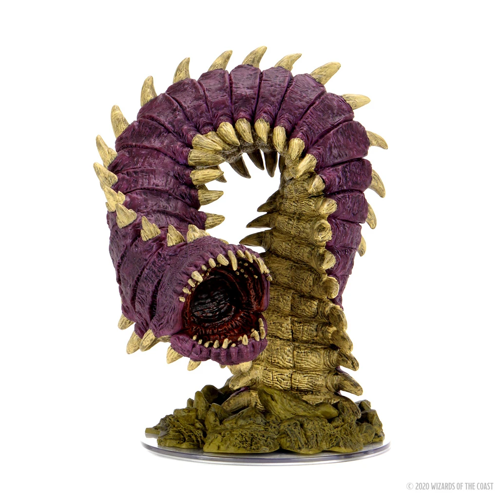 D&D Icons 15: Fangs & Talons - Purple Worm Set