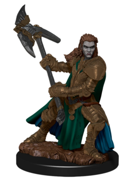 D&D Premium Figures: Orc Female Fighter