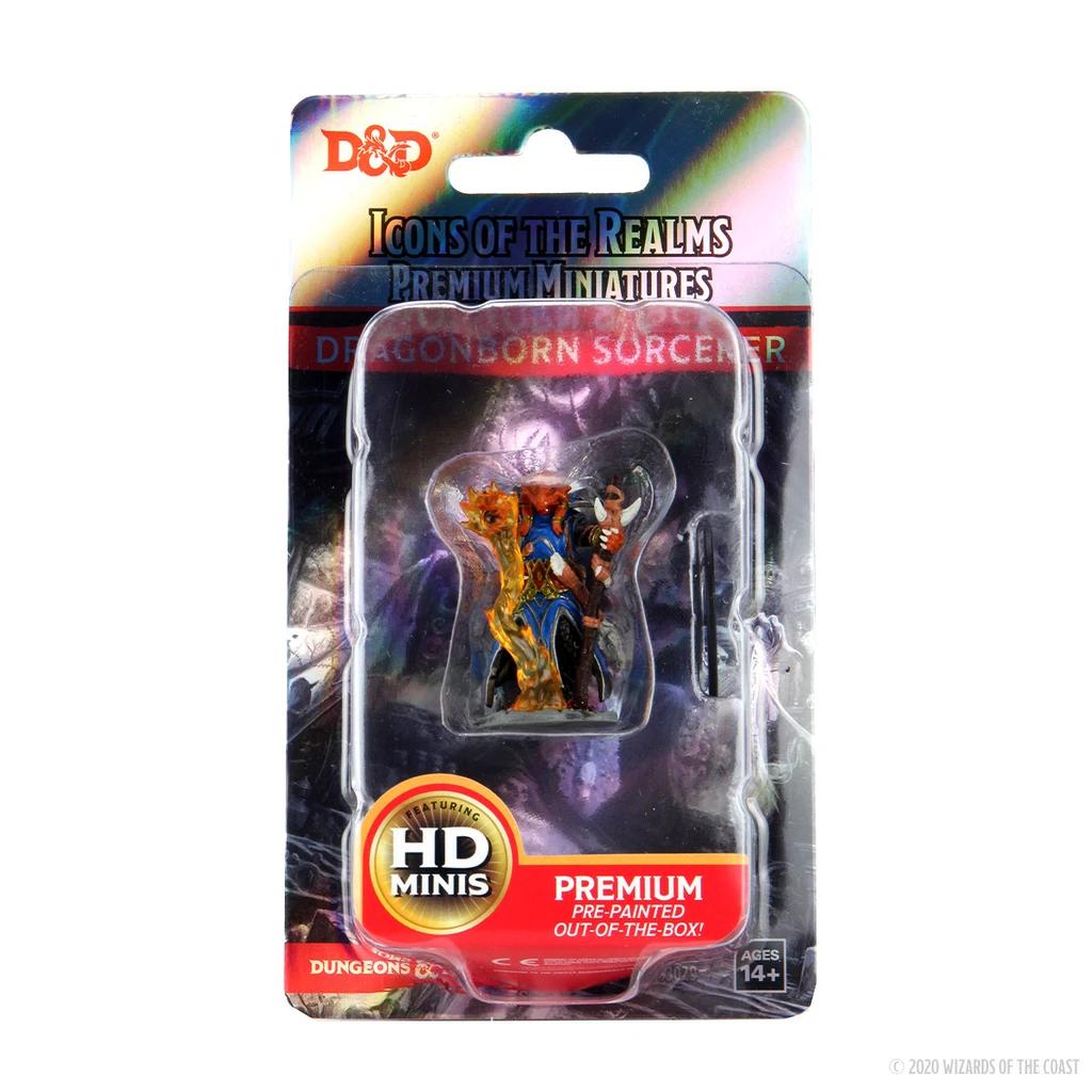 D&D Premium Figures: Dragonborn Female Sorcerer
