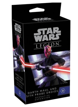 Star Wars: Legion - Darth Maul and Sith Probe Droids Operative Expansion