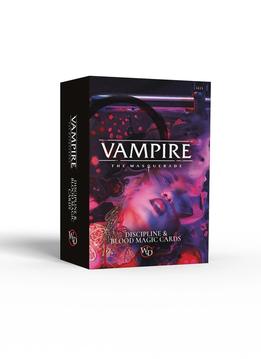 Vampire: The Masquerade 5th Ed. - Discipline and Blood Magic Card Deck