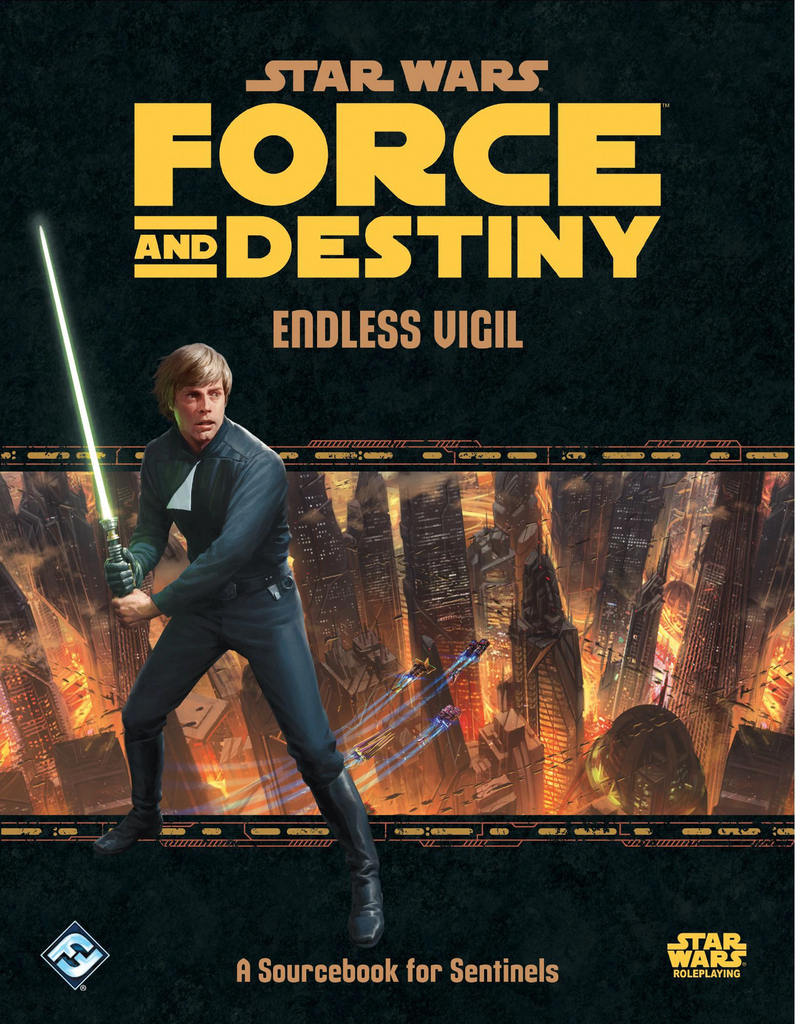 Star Wars: Force and Destiny RPG - Endless Vigil (HC)