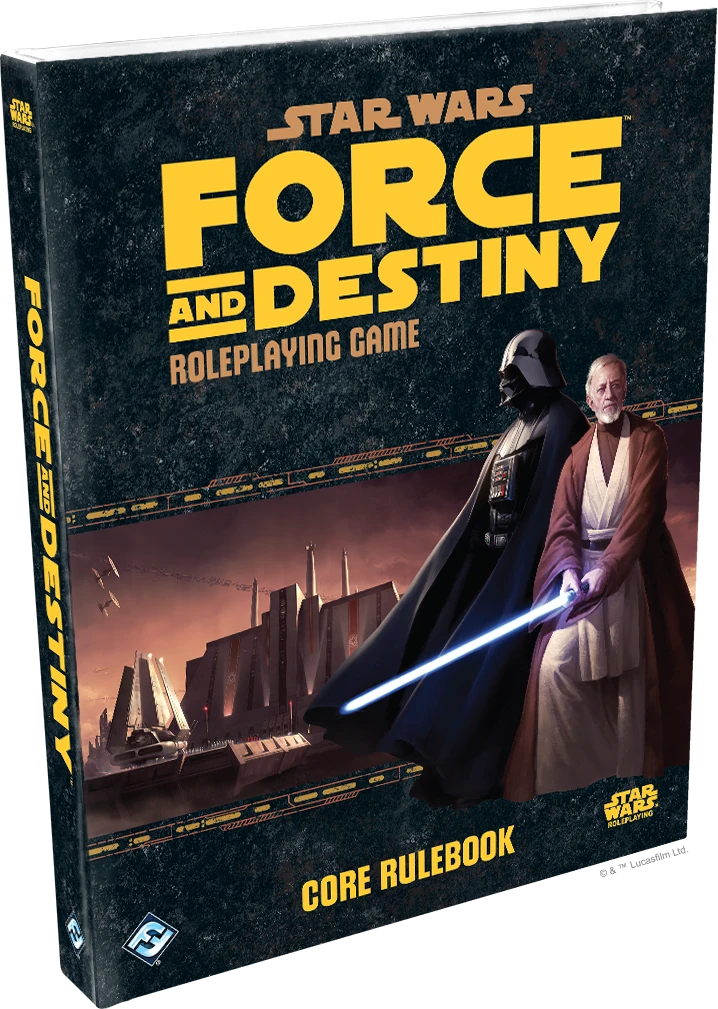 Star Wars: Force and Destiny Core Rulebook