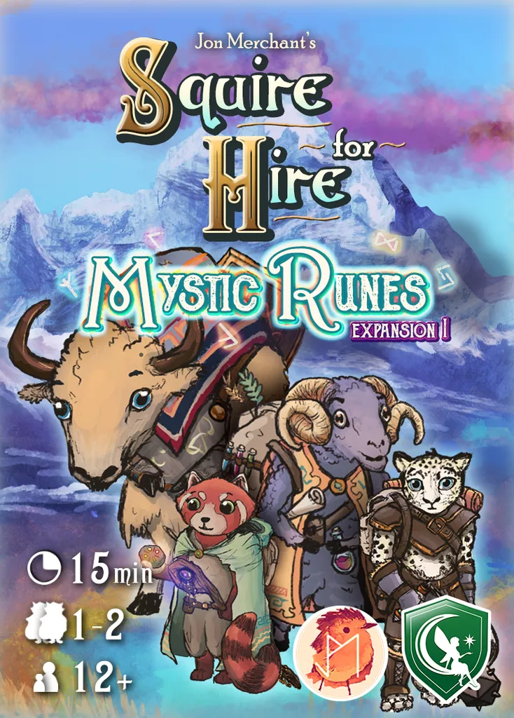 Squire for Hire: Mystic Runes Exp.