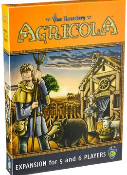 Agricola: 5-6 Player Exp. (EN)