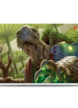 Archelos, Lagoon Mystic - MTG Commander Legends UP Playmat