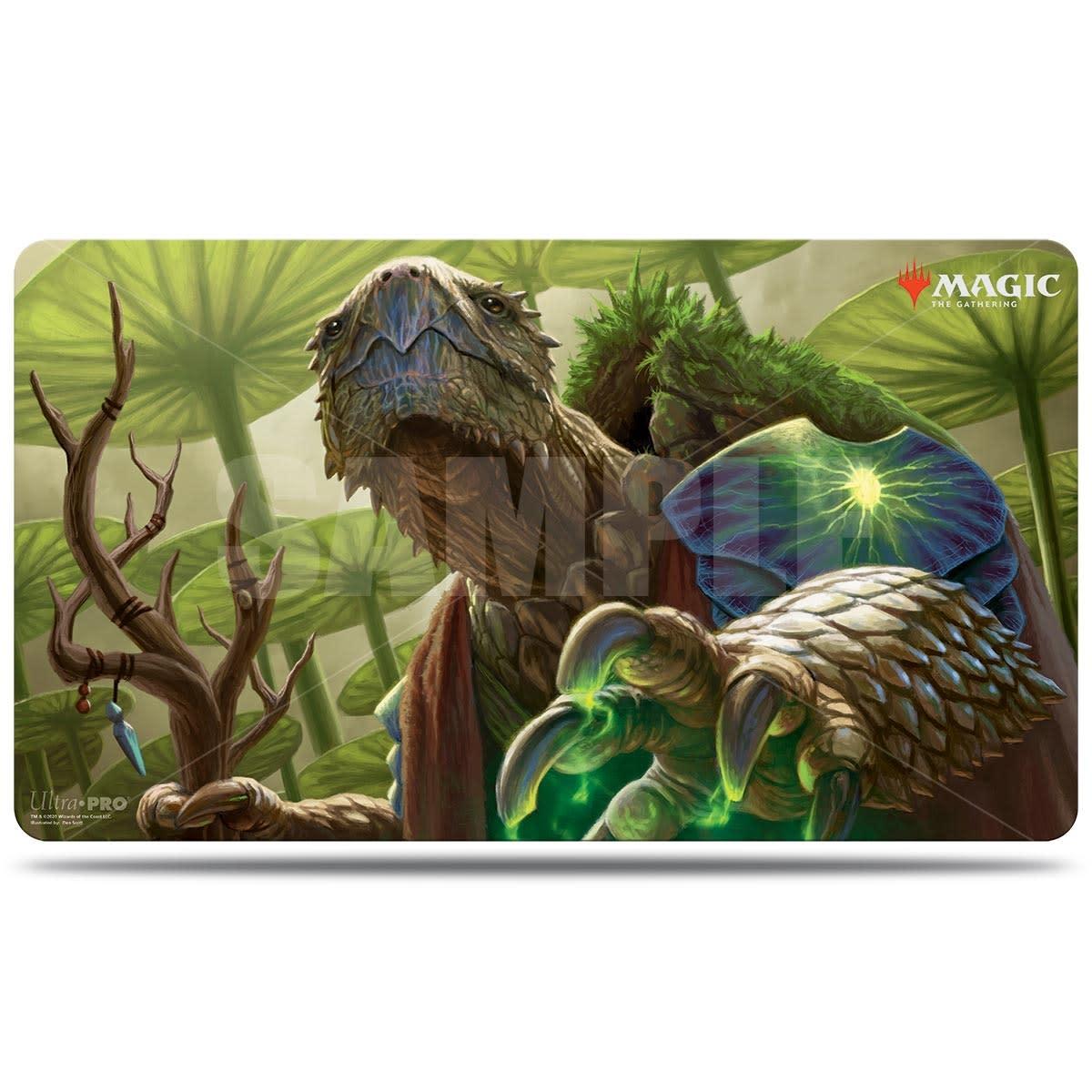 Archelos, Lagoon Mystic - MTG Commander Legends UP Playmat