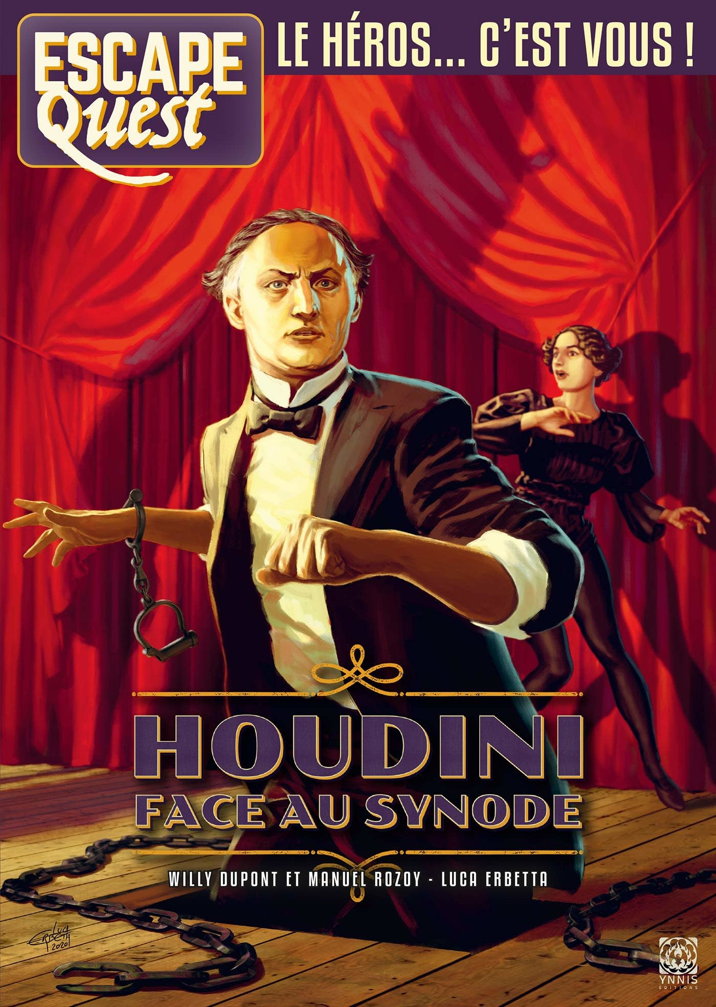 Escape Quest 8: Houdini face au Synode
