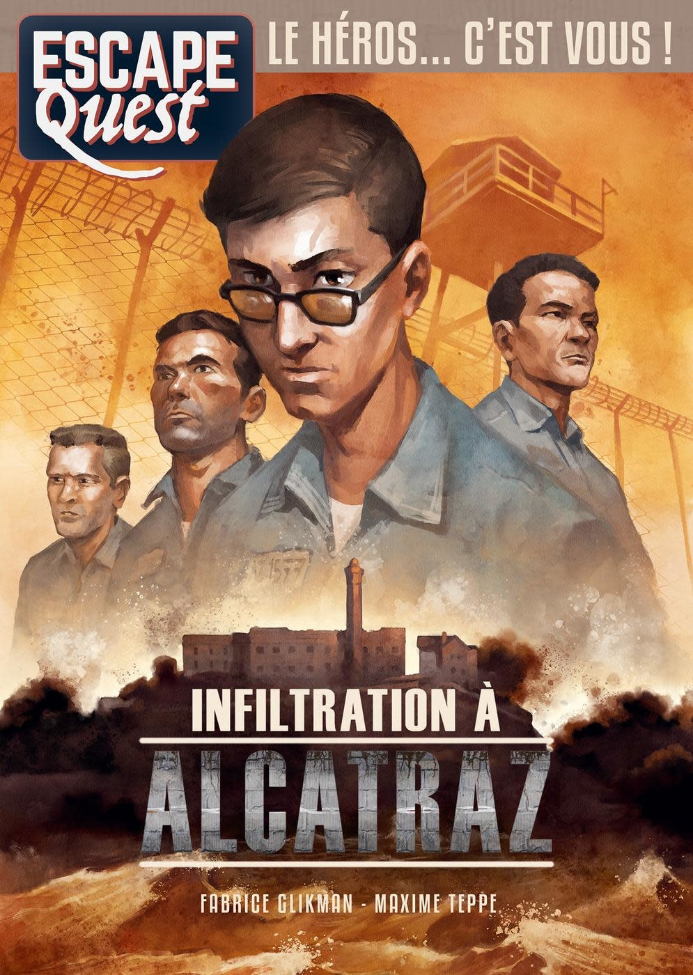 Escape Quest 7: Infiltration à Alcatraz