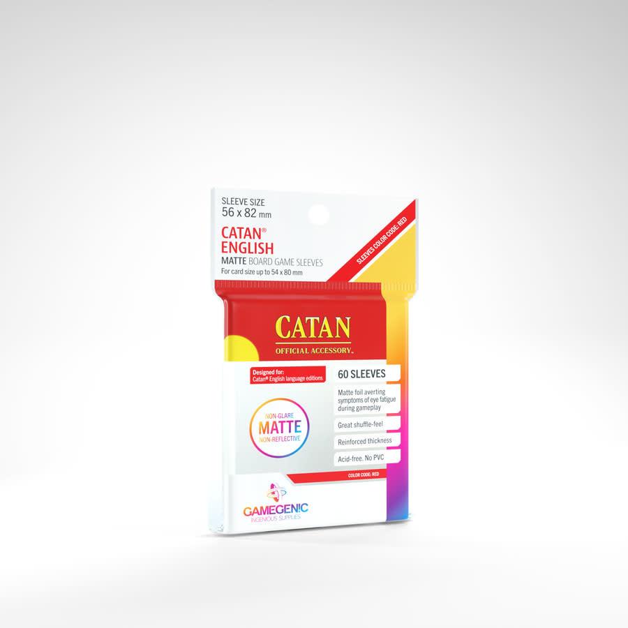 Gamegenic MATTE Sleeves: Catan (60)
