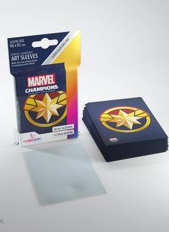 Captain Marvel - Marvel Champion Art Sleeves (50+1)