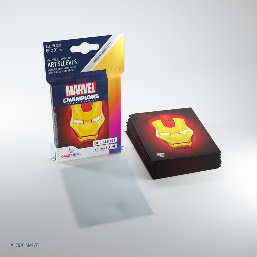 Ironman - Marvel Champion Art Sleeves (50+1)