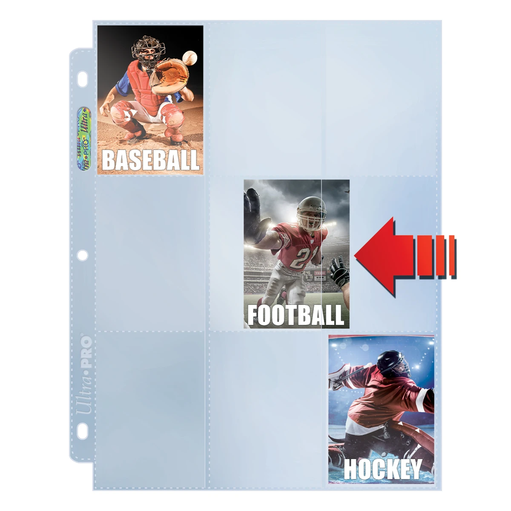 Ultra Pro 9-pocket Platinum Sideloading Box (100)