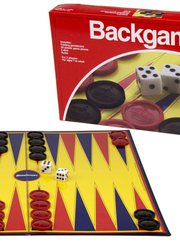Backgammon Folding (Red Box)