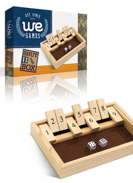 Mini 9 Number Shut the Box