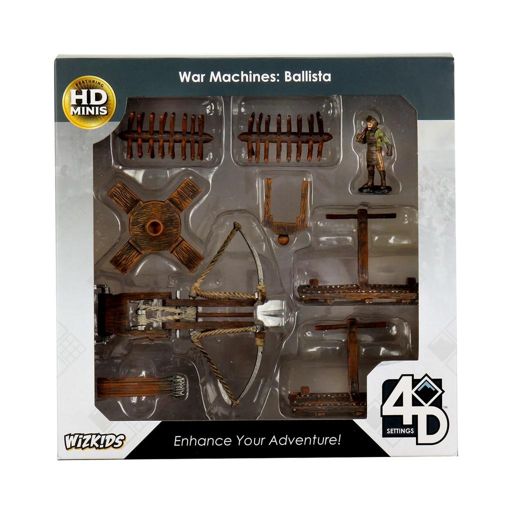 Wizkids 4D Settings: War Machines - Trebuchet