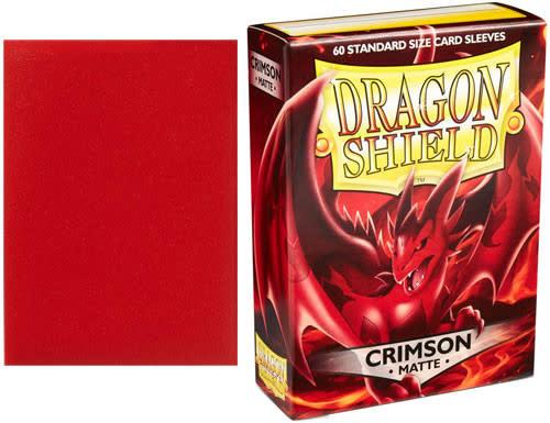 Dragon Shield Matte Crimson (60ct)